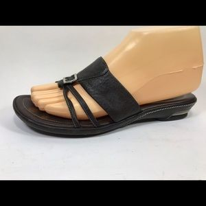 Cole Haan Air Leather Slide Sandals 7.5B
